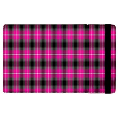 Cell Background Pink Surface Apple Ipad 2 Flip Case by Simbadda