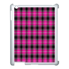 Cell Background Pink Surface Apple Ipad 3/4 Case (white) by Simbadda
