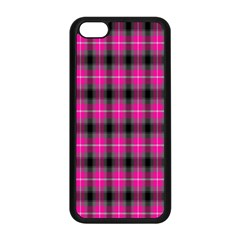 Cell Background Pink Surface Apple Iphone 5c Seamless Case (black) by Simbadda