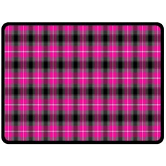 Cell Background Pink Surface Double Sided Fleece Blanket (large)  by Simbadda