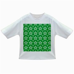 Green White Star Line Space Infant/toddler T Shirts by Alisyart