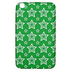 Green White Star Line Space Samsung Galaxy Tab 3 (8 ) T3100 Hardshell Case  by Alisyart