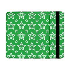 Green White Star Line Space Samsung Galaxy Tab Pro 8 4  Flip Case by Alisyart