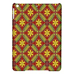 Abstract Yellow Red Frame Flower Floral Ipad Air Hardshell Cases by Alisyart