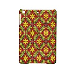 Abstract Yellow Red Frame Flower Floral Ipad Mini 2 Hardshell Cases by Alisyart