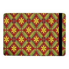 Abstract Yellow Red Frame Flower Floral Samsung Galaxy Tab Pro 10 1  Flip Case by Alisyart