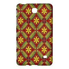 Abstract Yellow Red Frame Flower Floral Samsung Galaxy Tab 4 (7 ) Hardshell Case  by Alisyart