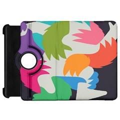 Hand Rainbow Blue Green Pink Purple Orange Monster Kindle Fire Hd 7  by Alisyart