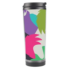 Hand Rainbow Blue Green Pink Purple Orange Monster Travel Tumbler by Alisyart