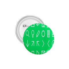 Icon Sign Green White 1 75  Buttons by Alisyart