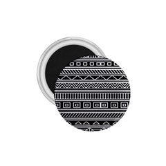 Myria Wrapping Paper Black 1 75  Magnets by Alisyart