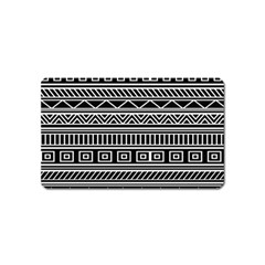 Myria Wrapping Paper Black Magnet (name Card) by Alisyart