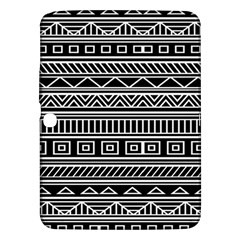Myria Wrapping Paper Black Samsung Galaxy Tab 3 (10 1 ) P5200 Hardshell Case  by Alisyart
