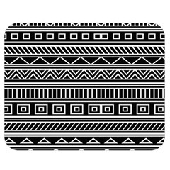 Myria Wrapping Paper Black Double Sided Flano Blanket (medium)  by Alisyart