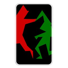 Ninja Graphics Red Green Black Memory Card Reader by Alisyart