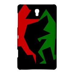 Ninja Graphics Red Green Black Samsung Galaxy Tab S (8 4 ) Hardshell Case  by Alisyart
