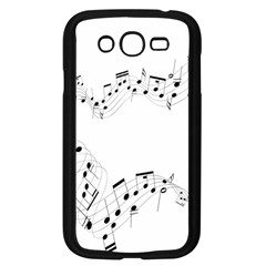 Music Note Song Black White Samsung Galaxy Grand Duos I9082 Case (black) by Alisyart