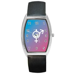 Perfume Graphic Man Women Purple Pink Sign Spray Barrel Style Metal Watch by Alisyart
