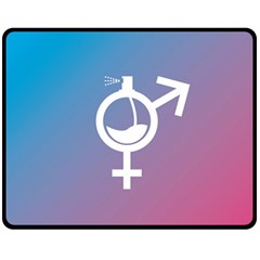 Perfume Graphic Man Women Purple Pink Sign Spray Fleece Blanket (medium)  by Alisyart