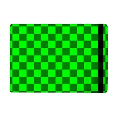 Plaid Flag Green Apple Ipad Mini Flip Case by Alisyart