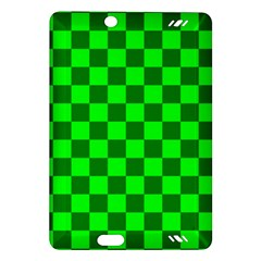 Plaid Flag Green Amazon Kindle Fire Hd (2013) Hardshell Case by Alisyart