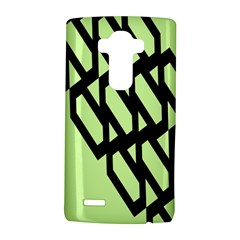 Polygon Abstract Shape Black Green Lg G4 Hardshell Case by Alisyart