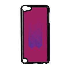 Purple Blue Apple Ipod Touch 5 Case (black) by Alisyart