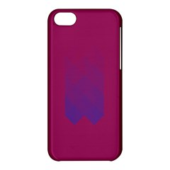 Purple Blue Apple Iphone 5c Hardshell Case by Alisyart