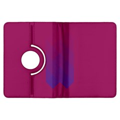 Purple Blue Kindle Fire Hdx Flip 360 Case by Alisyart