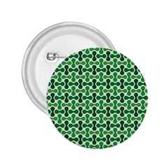 Green White Wave 2 25  Buttons by Alisyart