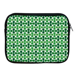 Green White Wave Apple Ipad 2/3/4 Zipper Cases by Alisyart