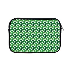 Green White Wave Apple Ipad Mini Zipper Cases by Alisyart