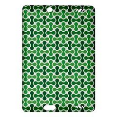 Green White Wave Amazon Kindle Fire Hd (2013) Hardshell Case by Alisyart