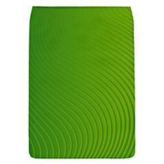 Green Wave Waves Line Flap Covers (s)  by Alisyart