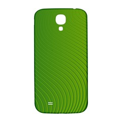 Green Wave Waves Line Samsung Galaxy S4 I9500/i9505  Hardshell Back Case by Alisyart