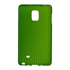 Green Wave Waves Line Galaxy Note Edge by Alisyart