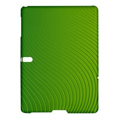 Green Wave Waves Line Samsung Galaxy Tab S (10 5 ) Hardshell Case  by Alisyart