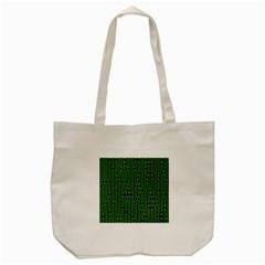 Pipes Green Light Circle Tote Bag (cream) by Alisyart