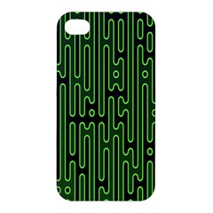 Pipes Green Light Circle Apple Iphone 4/4s Hardshell Case by Alisyart