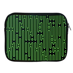 Pipes Green Light Circle Apple Ipad 2/3/4 Zipper Cases by Alisyart