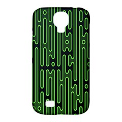 Pipes Green Light Circle Samsung Galaxy S4 Classic Hardshell Case (pc+silicone) by Alisyart