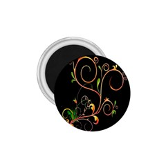 Flowers Neon Color 1 75  Magnets by Simbadda