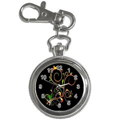 Flowers Neon Color Key Chain Watches by Simbadda