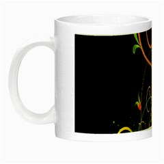Flowers Neon Color Night Luminous Mugs by Simbadda
