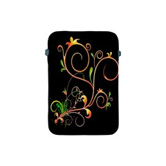 Flowers Neon Color Apple Ipad Mini Protective Soft Cases by Simbadda