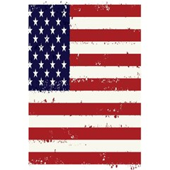 Flag United States United States Of America Stripes Red White 5 5  X 8 5  Notebooks by Simbadda
