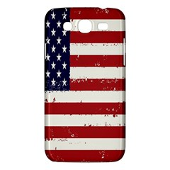 Flag United States United States Of America Stripes Red White Samsung Galaxy Mega 5 8 I9152 Hardshell Case  by Simbadda