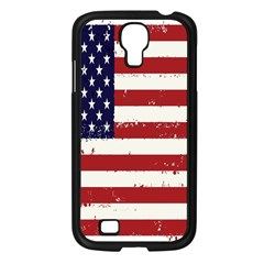Flag United States United States Of America Stripes Red White Samsung Galaxy S4 I9500/ I9505 Case (black) by Simbadda