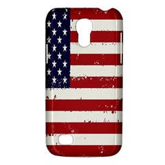 Flag United States United States Of America Stripes Red White Galaxy S4 Mini by Simbadda