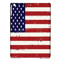 Flag United States United States Of America Stripes Red White Ipad Air Hardshell Cases by Simbadda